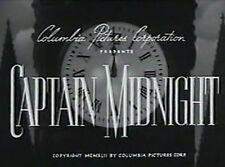 Captain Midnight - Classic Movie Cliffhanger Serial DVD Dave O'Brien