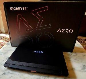 "GIGABYTE AERO 15 OLED 4K - 15.6"", 1TB, Intel Core i7-11800H, RTX 3060 105w, NEW!"