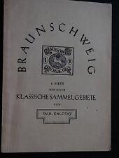 Braunschweig 1. Heft der Reihe Klassische Sammelgebiete - b3738
