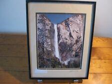 John Gavrilis Original SIGNED Framed Photograph - Yosemite (Bridal Vale)