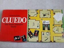 Vintage Cluedo The Great Detective  Game  by Waddingtons (1972 Edition)