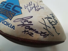 SEC Legends AUTOGRAPHED Football: Joe Namath, Huey Richardson (RARE), 11 others!