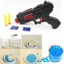 Water Crystal Gun 2-in-1 Soft Air Bullet Gun Pistol Toy CS Game Shooting