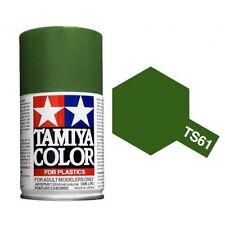 Tamiya TS-61 NATO GREEN Spray Paint Can  3.35 oz. (100ml) 85061