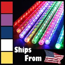 30/50cm LED Snowfall Meteor Rain Light Tube for Holiday Party Wedding Xmas Decor