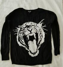 express womens TIGER sweater medium