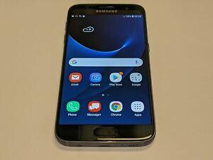 Samsung Galaxy S7 SM-G930V 32GB Black Verizon Smartphone/Phone *Rear Smashed*