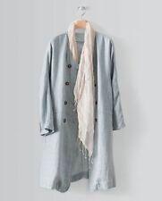Linen Summer Coats & Jackets Button for Women