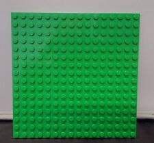 """Lego - 16 x16 Dots (5"""" x 5"""") Bright Green Base Plate ~ Grass Base ~ Thick"""