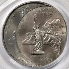 2001 PGCS MS66 Struck 5 Times New York Quarter Mint Error An Amazing Error
