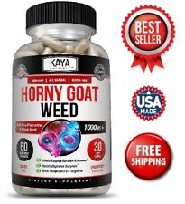 Horney Goat Weed Extract 1560mg Tribulus, Maca, Saw Palmetto Ginseng, Arginine