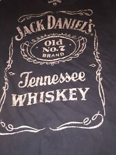Jack Daniels t shirt / Large / Black / Tennessee Whiskey