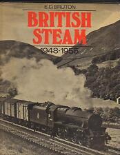 BRITISH STEAM 1948-1955/1ST/ED BRUTON