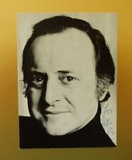 GENUINE AUTOGRAPHED PHOTO ~ POSTCARD SIZE ~ DAVID JACOBS [ JUKE BOX JURY ]