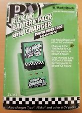 RadioShack RC Car battery pack and charger NEW 6V NiCd 23-351