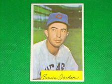 1954 Bowman #189 Randy Jackson
