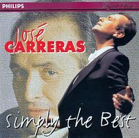 JOSE CARRERAS : SIMPLY THE BEST / CD - TOP-ZUSTAND