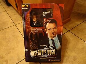"""2001 PALISADES TOYS--RESERVOIR DOGS MOVIE--12"""" MR. BROWN FIGURE (NEW)"""