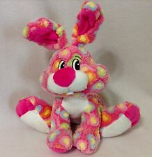 Dan Dee Collectors Choice Love Hearts Pink Bunny Rabbit 16 inch Stuffed Toy