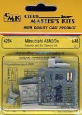 cmk Mitsubishi A6M3/3a Interior set Cockpit - 1:48 Modell-Bausatz Tamiya kit NEU