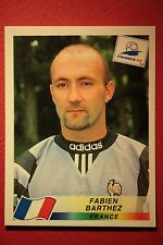 PANINI WC WM FRANCE 98 1998 158 FRANCE BARTHEZ WITH BLACK BACK MINT!!
