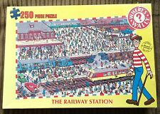 Where's Wally? The Railway Station 250 pc Jigsaw Puzzle NEW SEALED Cartoon/Waldo