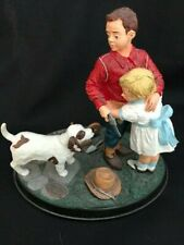 """Vintage Norman Rockwell """"Stand By Me"""" Figurine #82243 - Rhodes Studio"""