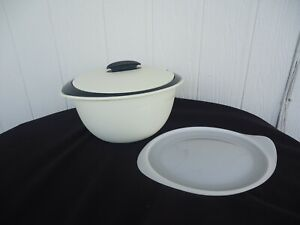 Tupperware Microwave Insulated Heat Serve & Store Bowl 4995A-4 4.3 Litre