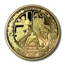 Australia Sydney 2000 Olympics $100 Gold Proof Coin KM-442