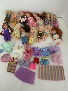 Mattel 1990s Kelly & Tommy Huge lot Dolls Clothes Shoes