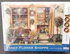 Jigsaw Puzzle fancy flower shoppe 1000 pieces New