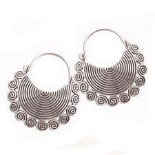 Beautiful Earrings Pure Silver Thai Karen Hill Tribe
