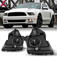 For Ford Mustang 13-14 Clear Lens Pair OE Fog Light Lamp+Wiring+Switch Kit DOT