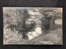 """Vintage RP Postcard: #TP2806: """"A Quiet Book"""" River Ewden"""