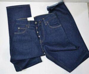 Jeans Rifle scuro, modello uomo, diritto chiusura bottone