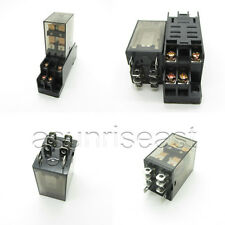 10 x DC12V Coil Power Relay 10A DPDT LY2NJ HH62P HHC68A-2Z + Socket  Wholesale