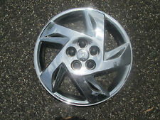 one 2000 to 2002 Pontiac Sunfire chrome bolt on hubcap wheel cover