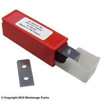 10 Stück HW (HM) Wendeplatten 30x12x1,5mm Z2 Wendeplatte Wendemesser