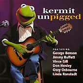 KERMIT UNPIGGED CD 1994 JIM HENSON RECORDS MUSIC ALBUM SONGS 10 TRACKS MUPPETS