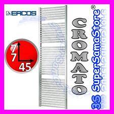 3S NUOVO SCALDASALVIETTE TERMOARREDO CROMATO RADIATORE SCALDA BAGNO H 77 x L 45