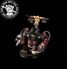 Warhammer 40K Space Orks, Ghazghkull Thraka, Black. 1 PRO PAINT resin miniature