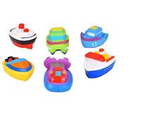 4PC Squirting Bath Boats Squirts Play Bath Tim Kids Water Fun Toy Water Squirter