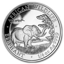 SOMALIE 25 Shillings Argent 1/4 Once Elephant 2019