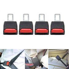 4pcs Car Safety Seat Belt Buckle Extension Extender Clip Alarm Stopper Universal