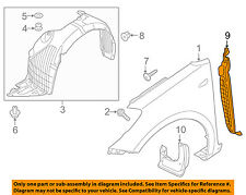 KIA OEM 14-18 Forte5 Fender-Rear Seal Right 84142A7000