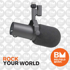 Shure SM7B Microphone Dynamic Broadcast Mic Voice Over w/ Switchable Response SM