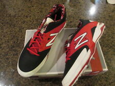 New Balance Men's 16 2E  Athletic L4040BR2 Low Metal Baseball Cleats red NIB