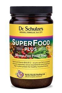 Dr. Schulze's Original Superfood Plus - 400g - Vegan, Phytonutritional Powder