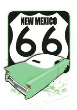 ROUTE 66 NEW MEXICO AND CUSTOM CAR  Sticker Decal