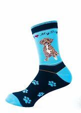 Schnoodle Dog Socks Signature